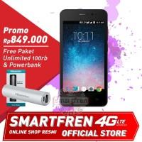 4g smartfren andromax b special edition (white gold)