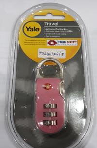 Gembok Yale Koper Travel Sentry Luggage Padlock