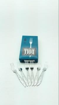 Kedaung Garpu Makan SUPER DOLL 401/6 KIG/HNS10015 ( ISI 6 PCS )