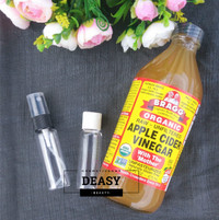 (Share in Bottle 30ml) TONER Cuka Apel Bragg Apple Cider Vinegar