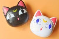 Tempat Softlens Sailormoon Kotak Softlens Kucing Cat Lensa Mata GH