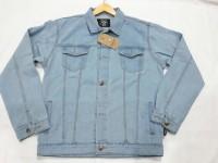 Jaket jeans big size jumbo ukuran besar jacket denim xxl - xxxxxl 5l