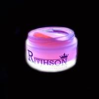 Pomade Ritjhson Glow In The Dark Merah Red Waterbased (FREE SISIR SAKU