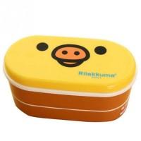 Techno Cosp Kotak Makan 2 Tingkat Model Rilakkuma Lunc Box