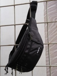 Tas Selempang Pria Zest Black / Sling Bag / Waist Bag