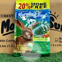 Morning Sun Alfalfa Grass 1,2Kg Makanan kelinci pelet best in show