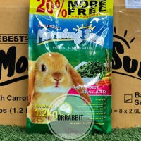 Morning Sun Baby Rabbit small bites makanan pelet kelinci rabbit food