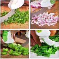 Pisau Potong Putar BOLO - Circular Rolling Kitchen Knife