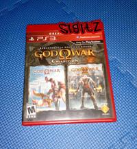 bd PS3 kaset game GOD OF WAR COLLECTION 1 KASET 2 GAME