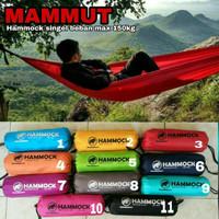 hammock mammut single layer beban max 150Kg