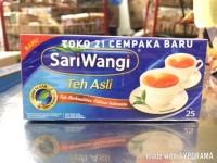 Teh Sariwangi Box isi 25 Amplop | Teh Hitam Asli Kantung Celup Promo