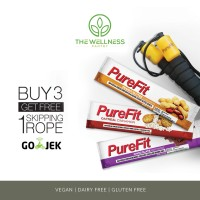 harga Purefit - bundle 3 variants ( free skipping rope ) Tokopedia.com