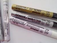 SNOWMAN Extra Fine Marker Spidol White Putih Silver Perak Emas Gold