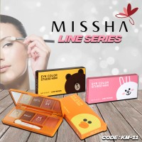 MISSHA LINE FRIENDS Eye Color Studio Mini / Misha eyeshadow / Missha