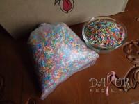 Meses Tulip Chocorice Mix 500 gr Repack / Meises Rainbow Warna