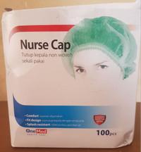 OneMed Nurse Cap Penutup Kepala Non Woven