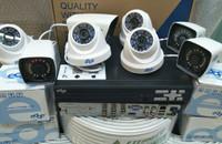 Paket kamera cctv 8ch2mp edge komplit
