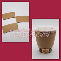 Sleeve paper cup 8oz