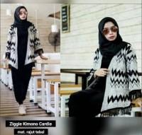 Ziggie Kimono Cardie Rajut
