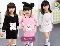 rere kids mini dress anak perempuan baju rajut murah lucu panjang