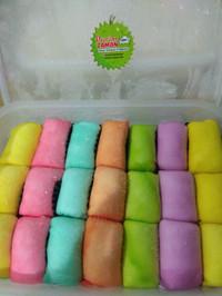 Promo Pancake Durian Medan Rainbow Isi 21 + Packaging Plastik Free
