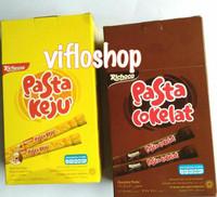 Richeese Nabati Pasta Keju / Richoco Nabati Pasta Cokelat Box (isi 30)