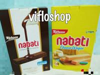 Richeese Nabati Wafer Keju & Richoco Wafer Coklat Box (20 x 8 gr)