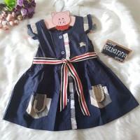 harga Burberry navy belt dress / dress burberry anak perempuan import Tokopedia.com