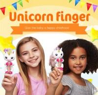 boneka fingerlings unicorn little pony mainan fingerling monyet