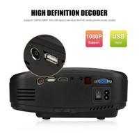 harga Cheerlux c6 mini led projector bisa lgsg jd tv (ada tombol di atas) Tokopedia.com