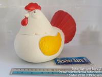Celengan Plastik Karakter Ayam