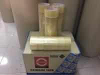 Lakban Daimaru Tape Bening 2 inch x 90 Yard (Dust @ 72 Roll)