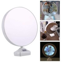 Cermin Magic dengan Photo Frame - Putih
