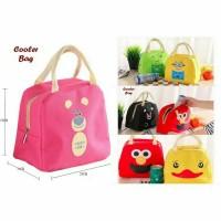 READY Tas Bekal Cooler Bag Anak Karakter Termos Insulator Lunch Bag