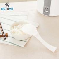 Sendok Nasi Berdiri - Centong Nasi - Rice Paddle - Unik - Putih