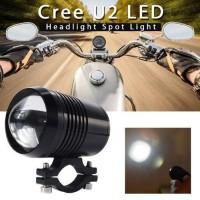 Lampu tembak cree u3 lampu sorot motor led lamp terang