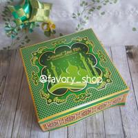 Dus Kue Lebaran 22x22 Hijau / Dus kue / Packaging Kue