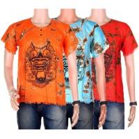 kaos batik murah kaos pantai barong bali 1