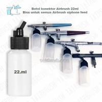 Botol Konektor Airbrush Siphone feed