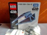 Tomica Star Wars Rogue One Tie Striker Diecast miniatur Pesawat murah