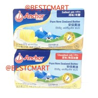 ANCHOR PURE NEW ZEALAND SALTED / UNSALTED BUTTER 227GR (GOSEND ONLY)