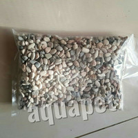 batu hias panca warna mix gravel aquarium taman 1kg