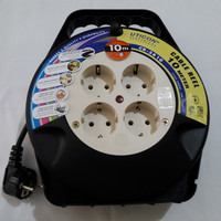 Kabel Roll 10 M / Stop Kontak rol Cable Reel Uticon CR-2810 10M