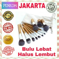 Set Kuas MakeUp 11pcs 11 pcs Cosmetic Make Up Brush with Pouch