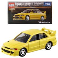 Tomica Premium Mitsubishi Lancer GSR Evolution III Yellow