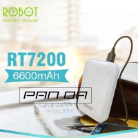 Power Bank Vivan ROBOT RT7200 6600 mAh Dual Output USB Port