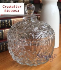 Crystal Jar / Candy Jar / Candy Pot / Tempat Permen - BJ00053