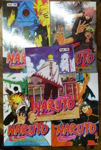 Paket 5 Buku Komik Naruto 67,68,70,71,72