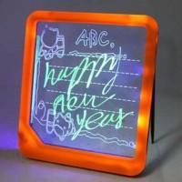 LED Writing Board / Papan Tulis LED (Only Battery) Diskon