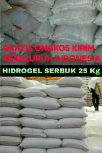 HIDROGEL 25 KG MEDIA TANAM KRISTAL SAP IMPORT